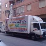 camión mudanzas